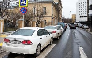 Штраф ГИБДД за неправильную парковку в неположенном месте в 2018 году